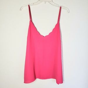 Papermoon Stitch fix lined scalloped camisole